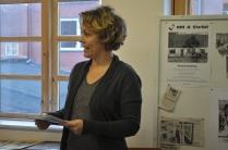 Turistchef Liselotte Nis-Hansen holder åbningstale