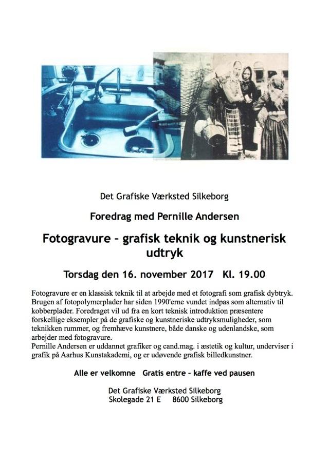 Foredrag om fotogravure